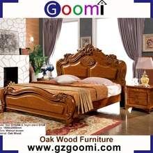 Factory Supply Goomi Bedroom Wooden Furniture Designs G1520# Double Cot Bed Models For Home Furniture