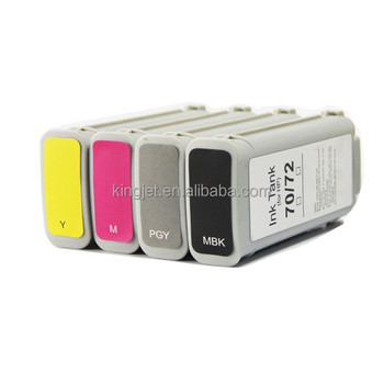 Compatible Printer cartridge For hp 72 inkjet cartridge For HP Designjet T610 /T1100