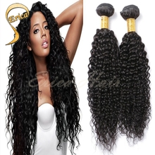 Hot 7A Brazilian Virgin Hair Weave Brazilian Kinky Curly 4 Bundles Human Hair Extensions Afro Kinky Curl Hair Weft Natural Black