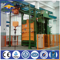 Q58 series of leading hanger hook shot blasting machine(750*2400)