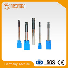 Cnc solid carbide 1.5mm end mill corner radius cutters