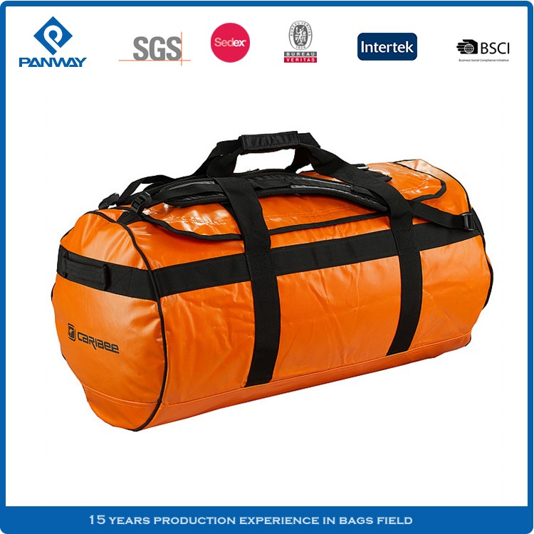 Custom Waterproof Travel Removable Padded Sport Bag With Ball Holder