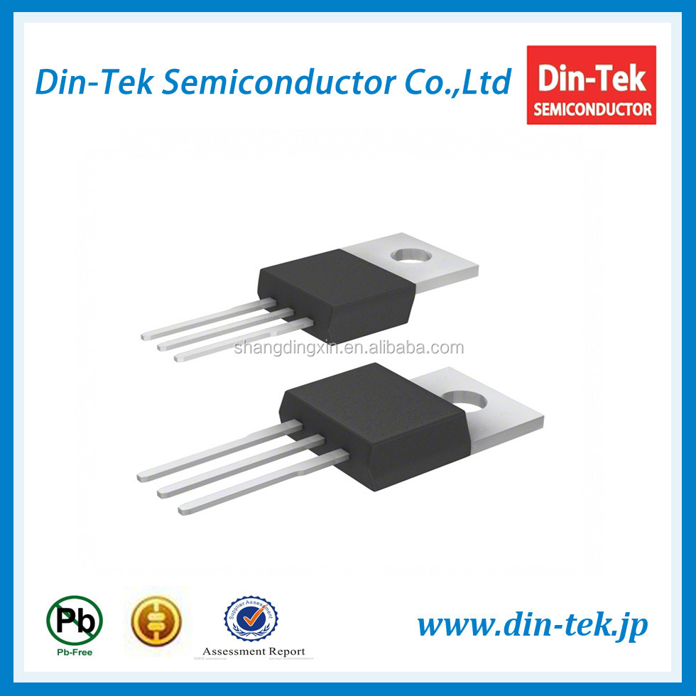 Din-Tek mosfet 600V 4A Single-N TO-220 package DTP4N60