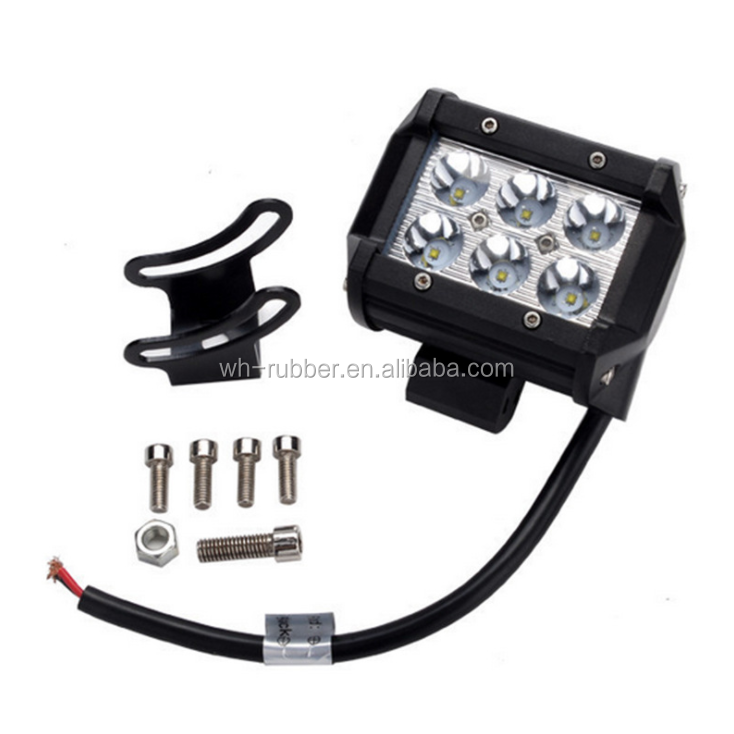 Wholesale Waterproof Truck Jeep Off Road 4 Inch ATV Truck LED Light Bar Flash 3 Row Flash Led Work Light