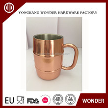 16oz stainless steel stein double wall smirnoff vodka and ginger beer copper mugs