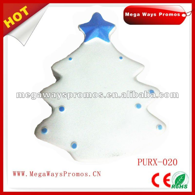 PU Christmas Shape Tree Stress Toy