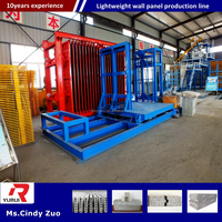 China manufacturing lightweight wall panel machine/Insulated eps sandwich panel roll forming machinery