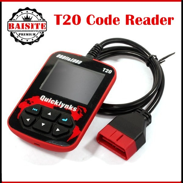 100% original Leagend Quicklynks CAN OBDII Scanner T20 obd obd2 Auto Diagnostic Tool for OBD2 EOBD Trouble Code Reader hot sales
