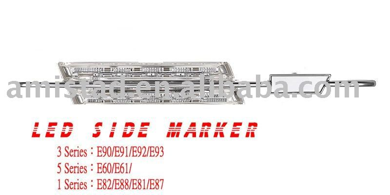 AUTO PART LED SIDE MARKER FOR E90,E91,E92,E93,E60,E61,E81.E82.E87.E88