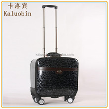 aboarding pu new Global Hot Selling pu leather travel bag/airport luggage trolley/leather cabin luggage