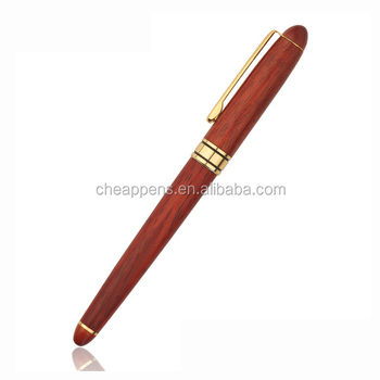 high quality red and gold metal ballpoint pen for business OEM