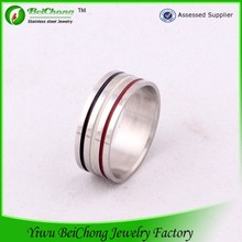 BC jewelry 316l stainless steel jewlery three colour flag ring 2014 world cup promotional gifts giveaways