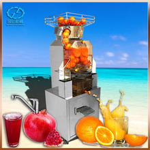 Professional automatic orange juice extractor With Stainless Steel Touch pad