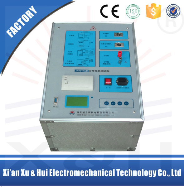 XHJS 1000 Tan Delta,Capacitance Measuring,Dissipation Factor Tester