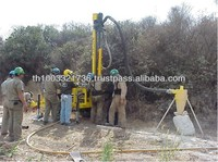 High Quality Trailer Mounted Portable Drilling Rig Machine