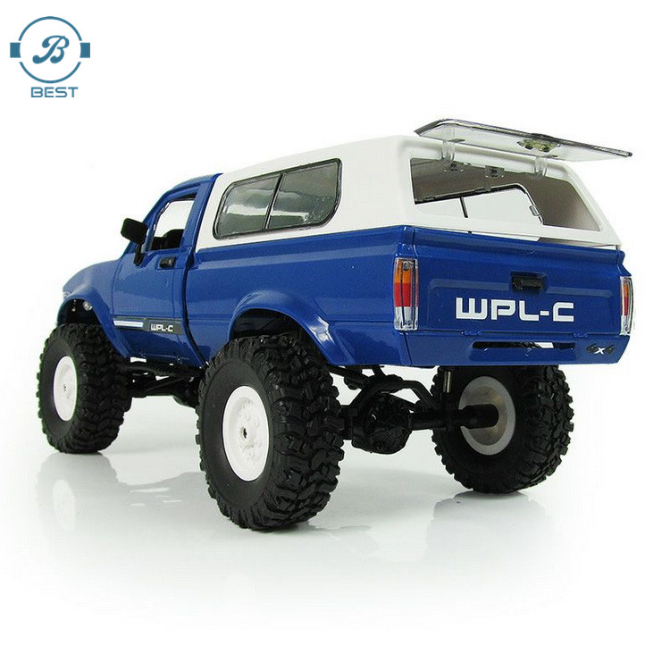 WPL C-24 4WD RC CAR Remote Control Toy 1:16 Model Car 2.4G OFF-Road RC High Speed Truck RTR Car for Child