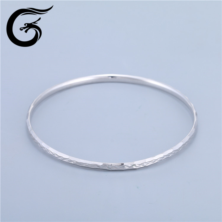 Guolong sterling jewel silver 925 couple bangles and bracelets