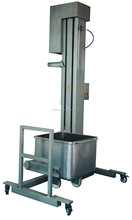 Meat material hoist