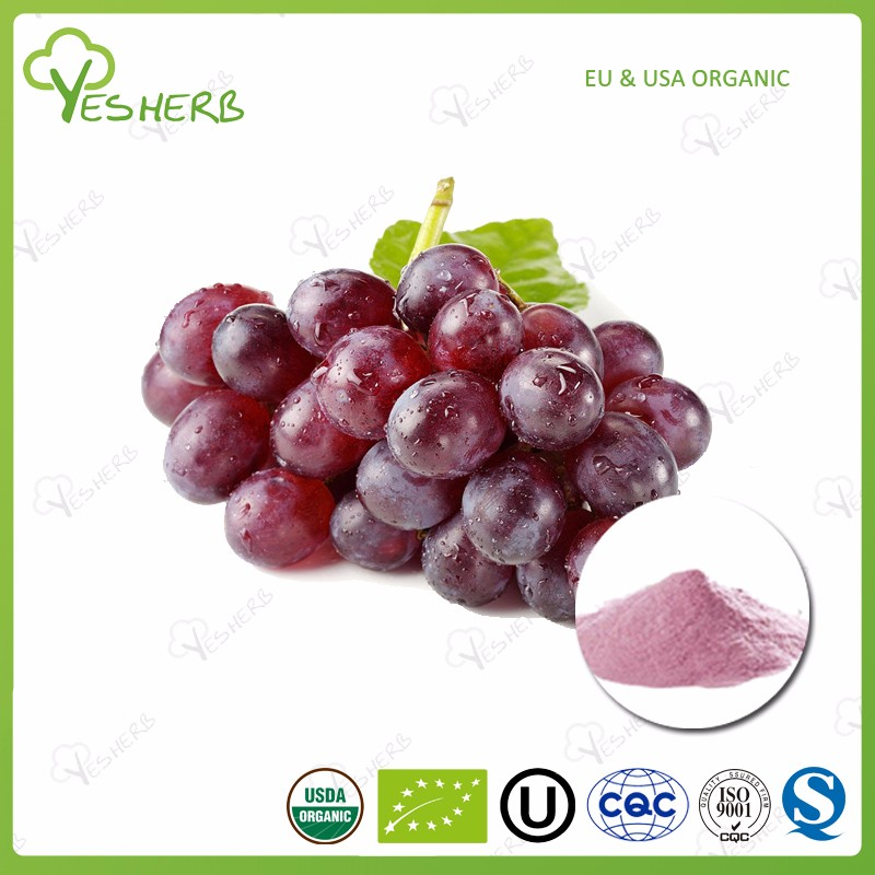 Manufacturer freeze dried grape powder