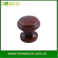 Hot sale cute wooden mini drawer knob factory