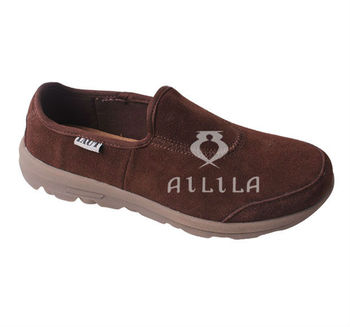 Cow suede leather men alpargatas
