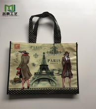 Cheap luxurious promotion printed pp non woven bag