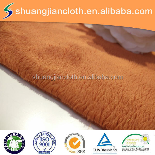 5MM micro velboa fabric plain dyed super soft velvet for garment,home textile