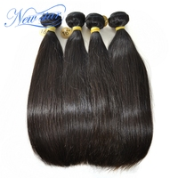 New Star Brazilian Virgin Hair Straight Extenstion 8A Unprocessed Virgin Human Hair Weave Bundles Brazilian Human Hair