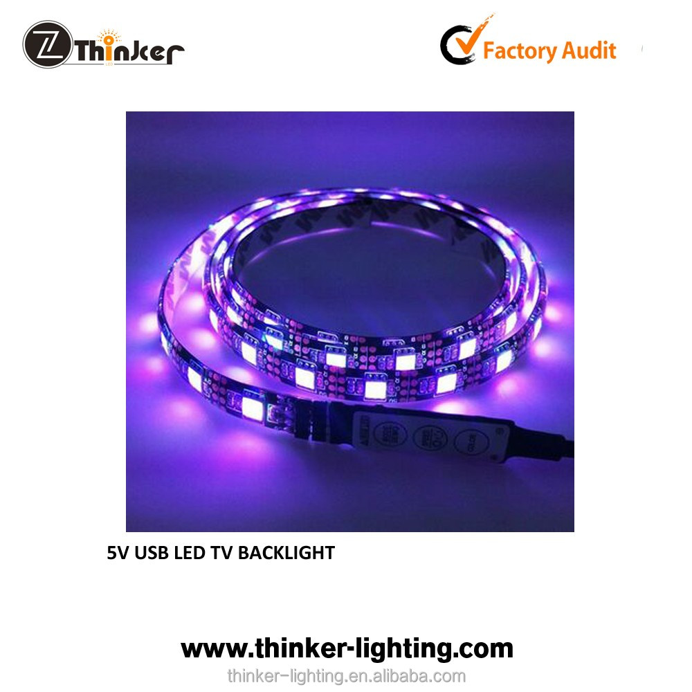 rgb dream color led strip with connector