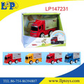 Newest friction power mini metal lorry toy for kids