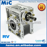 Industrial RV Type Worm Gear Speed Reduction Box