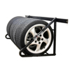Garage Wall Mount wheel tire display tire rack/steel shelf/wire metal shelf