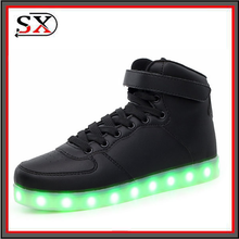 wholesale customize rechagable light up led sneaker 2017 fashion man led luminous zapatillas shoe adult man tennis led shoe