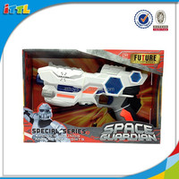 Super toy space gun with flashing light and sound action space gun for kids