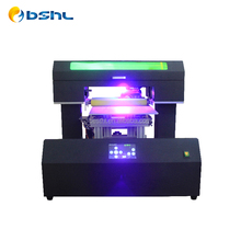HL-3050UV Hot Sale Auomatic A3 Flatbed Printer UV Phone Case Printer Cell Cover Printing Machine