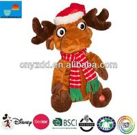 2014 singing christmas toys/hot sale christmas toys 2014/animated singing christmas toys