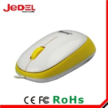 jedel fancy color slim mouse wired genius mouse
