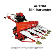 paddy harvester with diesel engine
