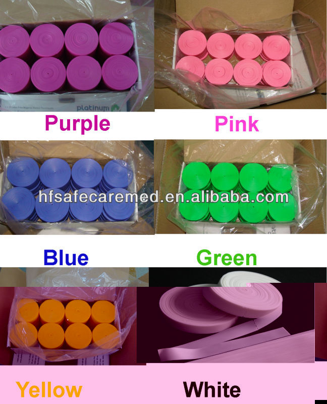 Colorful Latex Free Tourniquets with CE,FDA qualified TPE Non-Latex Only One Time Use
