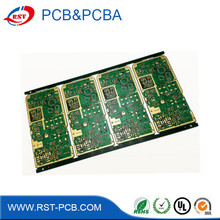 lcd/led pcb circuit/control pcb&pcba board dvb-t2 tv circuit board printing with CE&RoHS approved