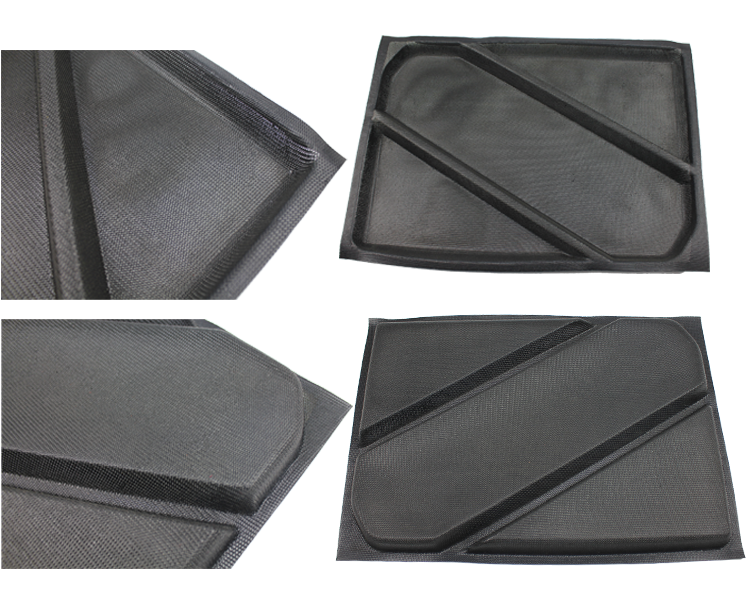 Subway black Non-Stick Perforated Baguette Pan for 2015 New product