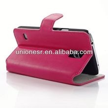 Wholesale price new arrival leather cellphone case for samsung galaxy s5 accept paypal