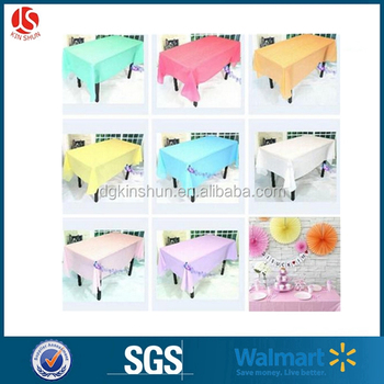 "54""X108"" Premium Hard Clear Plastic Tablecloth Essential Heavy Duty Table Covers"