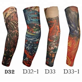 KaPin super breathable motor cycling sports protective decorative tattoo arm sleeves