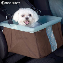 Heavy-Duty Metal Frame Car Auto Booster Seat For Pet Dog Travel