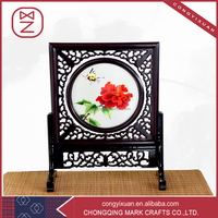 Fashion Home Decor Guest Gifts Handmade 100% Silk Embroidery