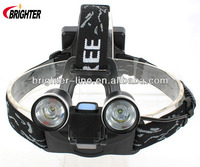 2* XPE R2 Headlamp Rechargeable Led Flashlight