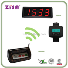 wrist watch,waiter service,Wireless Restaurant Guest Calling,Paging System