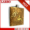 Gold Hip Flask