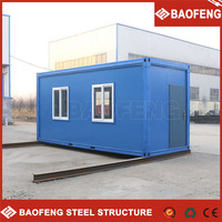 withstand fire container house for portable apartments